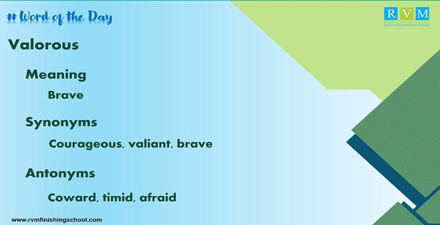 valorous meaning