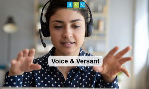 Voice & Versant