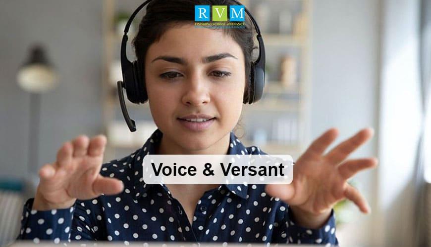 voice versant